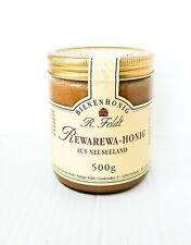 Rewarewa Honig aus Neuseeland 100% naturreiner Imker Bienenhonig 500g Glas