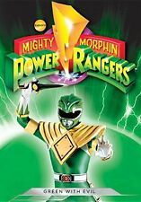 MIGHTY MORPHIN POWER RANGERS: GREEN WITH EVIL (Calhoun) - DVD - Region 1 Sealed