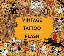Vintage Tattoo Flash Volume 2 (Hardback or Cased Book)