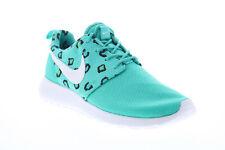 Nike Rosherun Print 599432-411 Womens Green Mesh Athletic Running Shoes 7