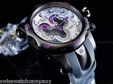 NIB Invicta Reserve Venom Swiss Made 5040F Master Chrono Gunmetal-Purple Diver