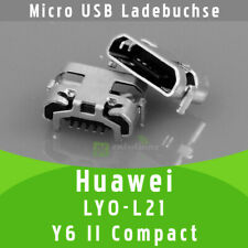 ✅ Huawei LYO-L21 Y6 II Compact Micro USB DC Buchse Ladebuchse Connector Port