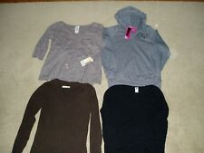 """NWT, """"LADIES Lot of 4, BRAND-NAME, LONGSLEEVE SHIRTS"""", Size L, Gap, Old Navy"""