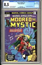 Marvel Chillers #1  CGC 8.5 WP VF+ 1975 1st app Modred the Mystic (Darkhold)