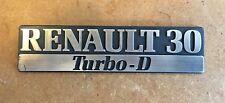 Renault 30 TURBO D Monogramme NEUF