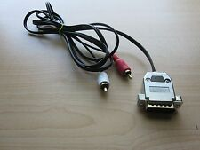 Apple IIc  Audio/Video Cable  RCA Plugs  NEW