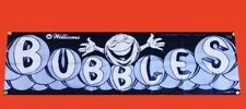 Large Bubbles Arcade Video Game Banner Flag Poster