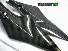 06 07 2006 2007 SUZUKI GSXR 600 750 CARBON FIBER LOWER TANK PANELS