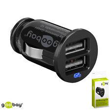 Dual USB-Autoladegerät 2,1A - KFZ Stromversorgung für Handys/Kleingeräte (26)