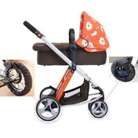 1Pcs Baby Pram Stroller Wheel Anti-Dirty Case Dustproof Protection Cover Fa P7I3