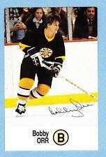 1988-89 Esso Unnumbered Bobby Orr Boston Bruins HALL OF FAME