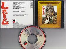 LOVE Da Capo CD 1988 PRESSING ELEKTRA ASYLUM TELDEC GERMANY Arthur Lee