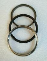 Chrome , Bezel Glass, Repair Kit
