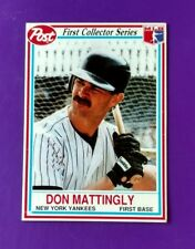 Yankee Don Mattingly 1990 Post Cereal #1