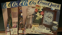 Lot Of 6 Cross Quick Magazines- Various Years And Months