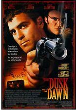 FROM DUSK TILL DAWN original film / movie poster