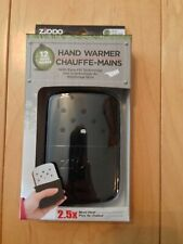 Zippo Hand Warmer 12 Hour - Black Matte 40334, Hunt, Fish, Farmer, Camper
