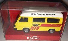 "herpa 041911 - Mercedes-Benz 100D Bus ""Pick-up-Service ADAC"", H0 1:87, neu + OVP"