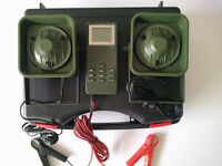 50W 12V 150dB 2 Loud Speaker Bird Caller Decoy Mp3 Speaker Bird Hunting W/ Timer