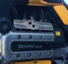 BMW K100 Inyector Carril Cubierta Protector De Acero Inoxidable Cepillado Cafe Racer Scrambler