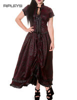 BANNED Victorian Vampire Gothic IVY Long Dress Ruffles Black All Sizes