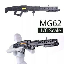 """1/6 Scale MG62 Rifle Gun Weapon Military Toy For 12"""" Action Figure Soldier UK"""