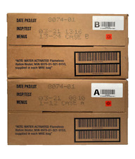 MRE MILITARY  2021 INSPECTION A , B or A and B case