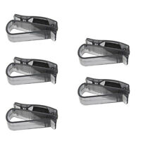 5 X Car Glasses Sunglasses Card Visor Pen Business Card Clip Holder HY Sales