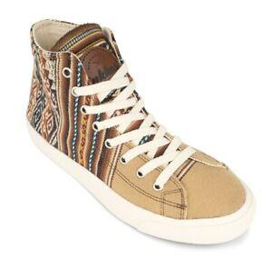 Inkkas Desert Nomad High Top Sneakers - Vegan, Fair Trade, Comfy, Unisex Shoes