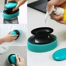 Brush Cleaning Brush Sponge Replaceable Couring Pad Washing Convenience
