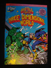 Jack Kirby 3D Comic Signed Battle for a Three Dimensional World rare NM