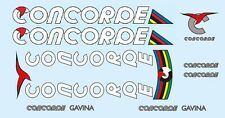 Concorde Gavina Bicycle Decals-Transfers-Stickers #8