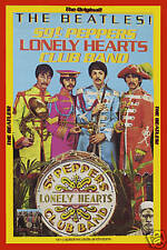 The Beatles *Sgt. Pepper* Capitol PROMO Poster 1967   13 x 19