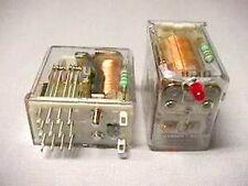 1 TE / Potter & Brumfield R10L-E1-X4-V700 4 Pole 5A 24VDC Relays W/ LED
