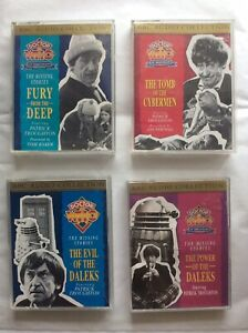 Doctor Who BBC Radio Collection Cassettes Job Lot