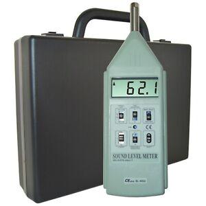 Sound Level Meter Type 1, 30 to 130dB, 3 Range (Model SL-4022)