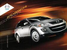 2010 10 Mazda CX9 CX-9  Original sales brochure MINT