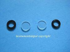 New Glass Cover & Rubber (each pair, total 4 pcs) 4 Polarimeter Tube Repair