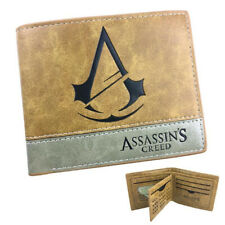 HOT GAME Assassin's Creed PU Leather Wallet Men Wallet Bifold Wallet As Gifts
