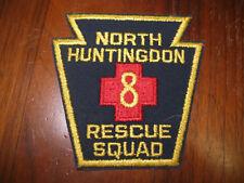 NORTH HUNTINGDON PENNSYLVANIA FIRE/RESQUE SQUAD PATCH ( KEYSTONE PATCH)