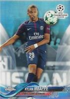 2017-18 Topps Chrome UEFA Champions League - Base Refractor Parallel (41-60)