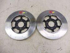 1977 Suzuki GS750 GS 750 S703' front brake rotor disc set pair
