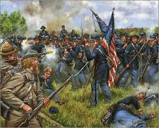 Mark Maritato Civil War SERGEANT BEN CRIPPEN Gettysburg Signed Giclée Art Print