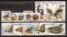 Malawi 1975 Birds set of 14 fine used