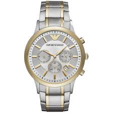 9ede71d0cc8a Nuevo emporio Armani Reloj con Cronógrafo Para Hombre Dos Tonos Renato-AR11076-RRP  £ 369