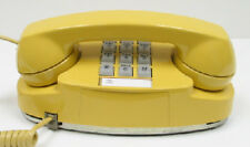 Yellow Western Electric Princess TouchTone Desk Telephone - Full Restoration