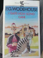 P.G.Wodehouse I gatti non sono cani Guanda ottimo
