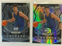 (2) 2020 Panini Prizm Draft Picks DENI AVDIJA Rookie RC Mint WIZARDS Crusade