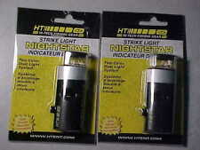 2 NEW HT Night Star Tip-Up Strike Lights    ice fishing with rod jigs