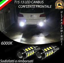 LAMPADE RETROMARCIA 13 LED T15 W16W CANBUS PER VOLKSWAGEN TIGUAN 6000K NO ERROR